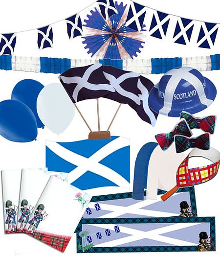 Large St Andrew's Cross Theme Pack