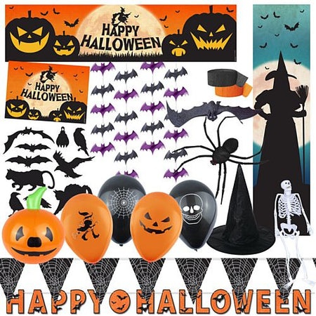 Click to view product details and reviews for Standard Halloween Decoration Party Pack.