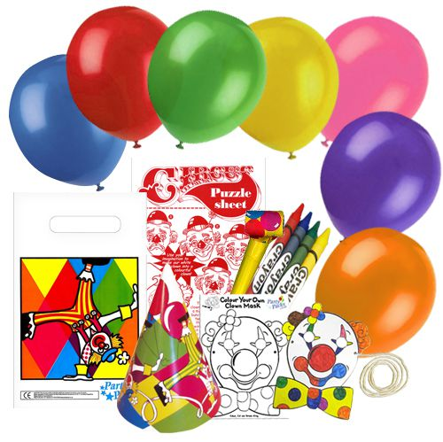 Children's Circus Party Pack For 100 Children