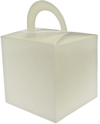 Cream Favour Box - 6.5cm - Each