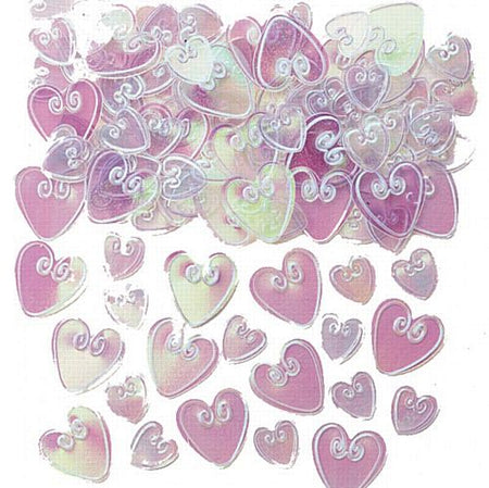 Iridescent Loving Heart Confetti 14g