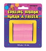 Pink Curling Ribbon - 91.4m