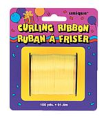 Yellow Curling Ribbon - 91.4m