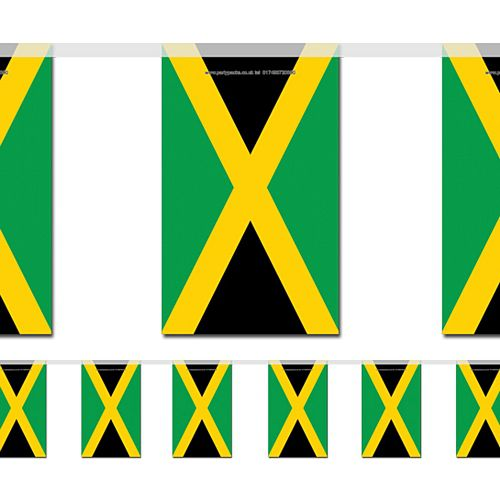 Jamaican Flag Bunting 2.4m