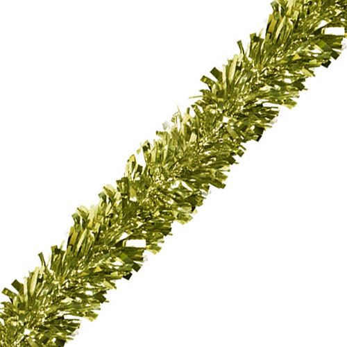 Gold Luxury Tinsel Garland - 6 Ply - 4.6m