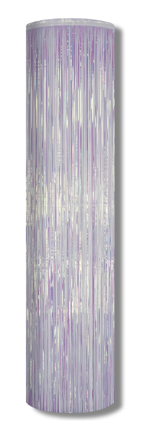 Iridescent Metallic Column - 8ft x 1ft
