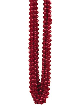 Red Party Beads - Pack of 12