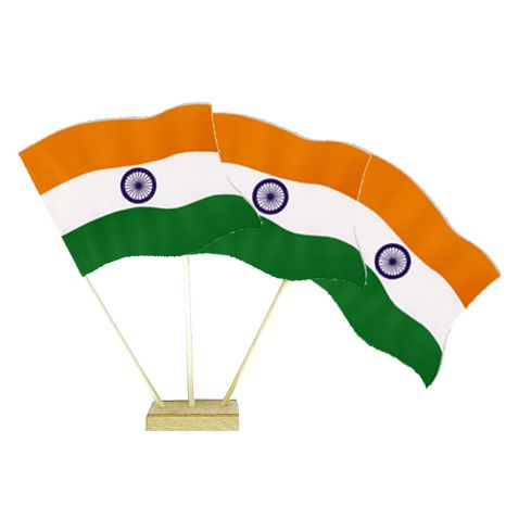 "Indian Table Flags 6"" on 10"" Pole"