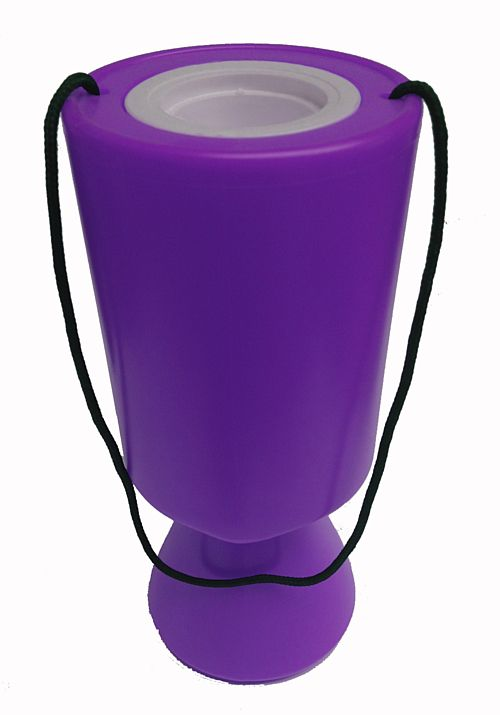 Purple Charity Collection Box - 21cm