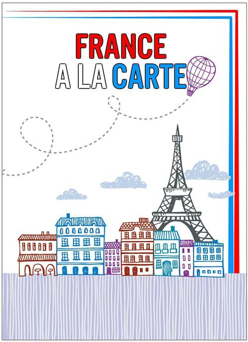 French Menu Card - Each