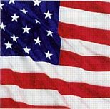 American Flag Flying Colours Luncheon Napkins - 33cm - Pack of 16