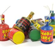 Party Poppers - Pack of 72