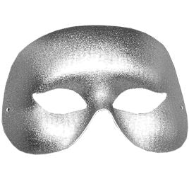 Cocktail Mask - Silver