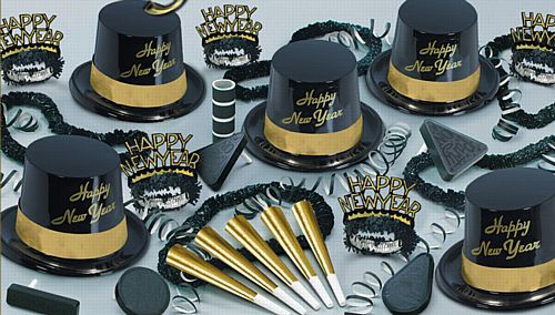 Gold Legacy - Hat and Novlety Party Pack for 10 People