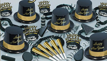Click to view product details and reviews for Gold Legacy Hat And Novlety Party Pack For 10 People.