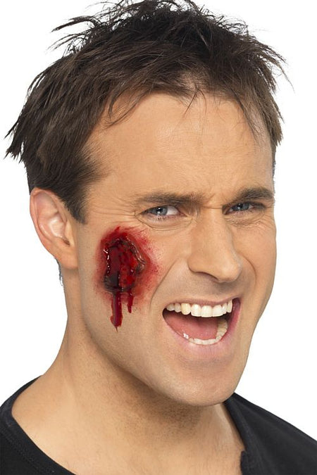 Make-Up FX Latex Gory Wounds - Set of 12