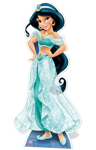 Official Disney's Aladdin Princess Jasmine Cardboard Cutout - 1.64m