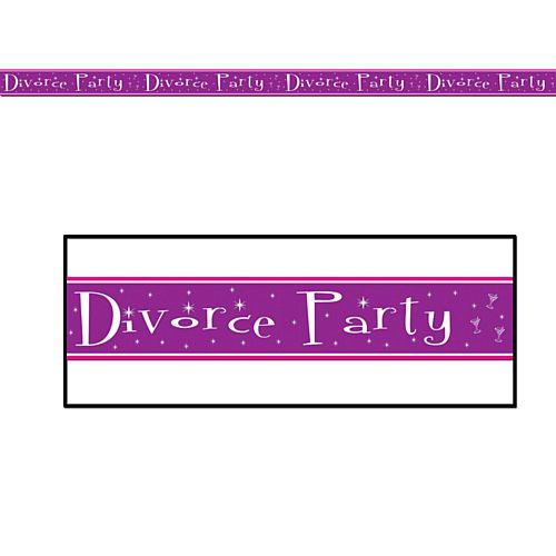 Divorce Party Tape - 6.1m