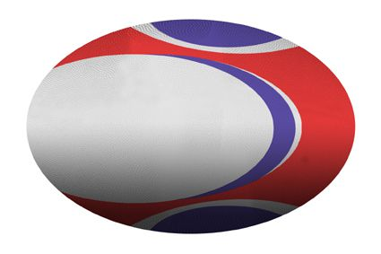 Rugby Ball Cutout (A3) - Each