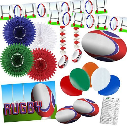 Rugby Decoration Pack