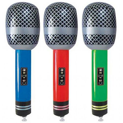 Inflatable Microphone - 25cm