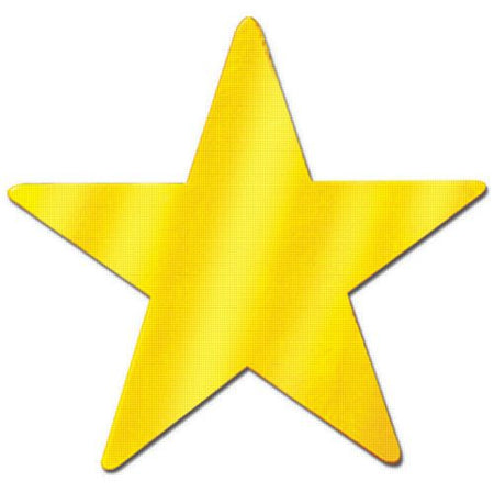 Click to view product details and reviews for Gold Star Cutouts 15.