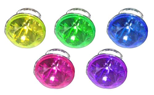 Ring Diamond Assorted Colours - Each