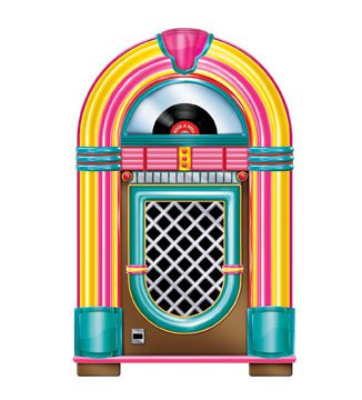 Jukebox Cutout 36""