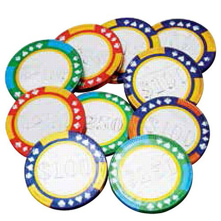 Chocolate Casino Chips - 38mm - 6g - Each