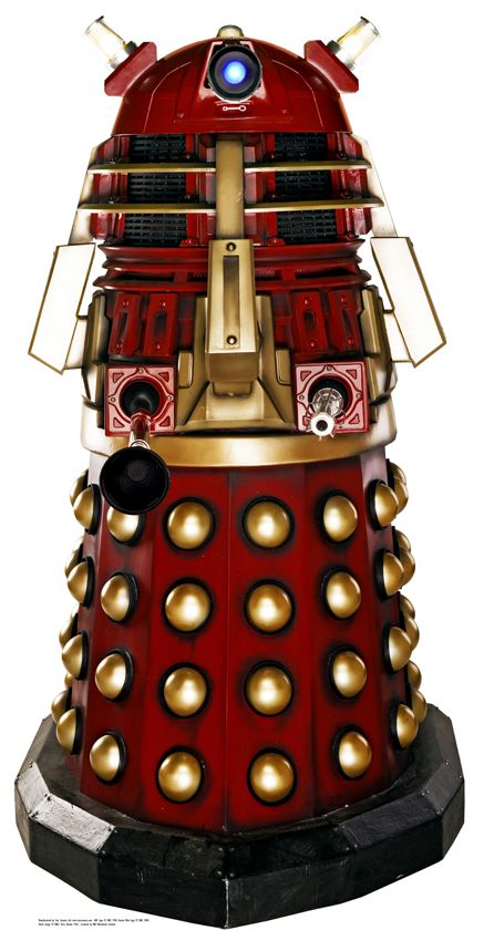 The Supreme Dalek Cardboard Cutout - 1.85m