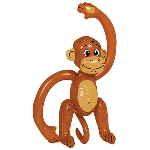 Inflatable Monkey - 50.8cm
