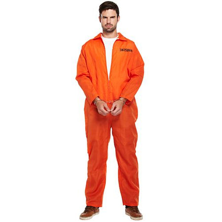 Prisoner Orange Boiler Suit