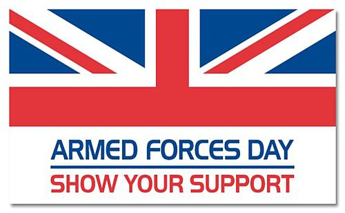 British Armed Forces Polyester Fabric Flag - 5ft x 3ft