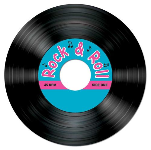 Rock and Roll Record Coasters - pack of 8
