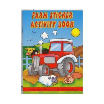 Farm Sticker Activity Book 36 Pages