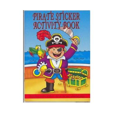 Click to view product details and reviews for Pirate Sticker Activity Book 36 Pages.