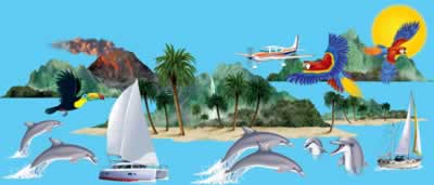 Tropical Cruise Props 55