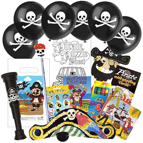 Childrens Pirate Party Pack For 100 Children