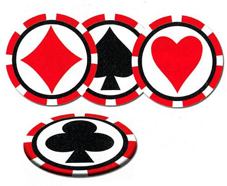 Click to view product details and reviews for Casino Coasters Pack Of 8 35.