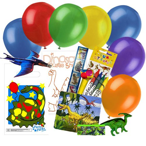 Childrens Dinosaur Party Pack For 100 Children