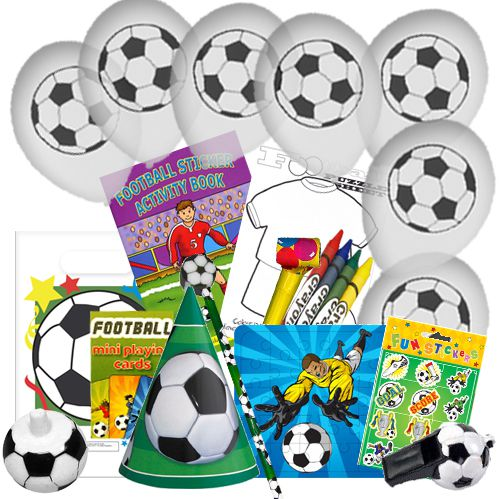 Childrens Football Party Pack For 100 Children