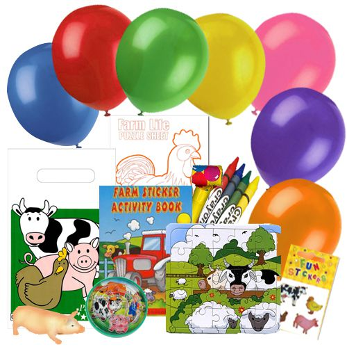 Childrens Farm Party Pack For 100 Children