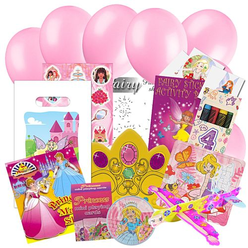 Childrens Fairy Party Pack For 100 Children