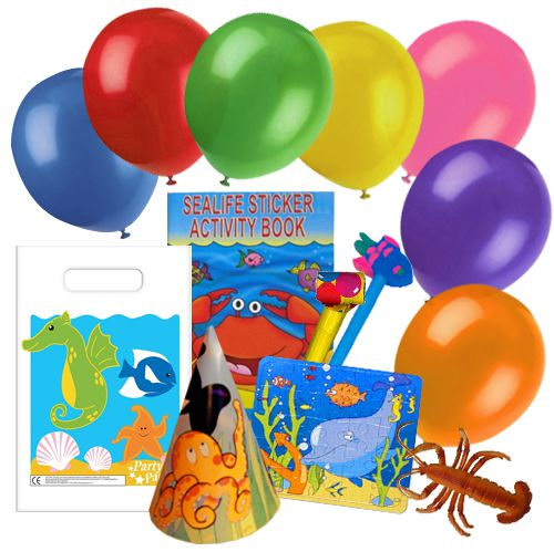 Children's Sealife Party Bag Pack For 100 Children