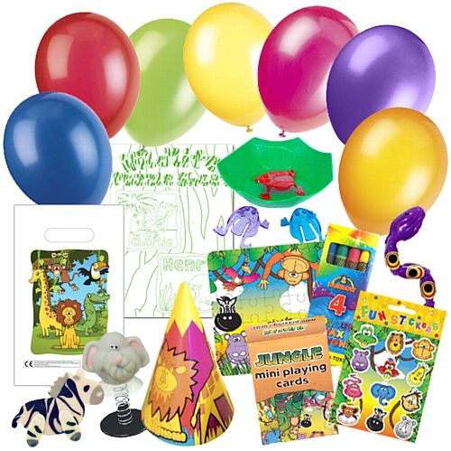 Childrens Jungle Party Pack For 100 Children