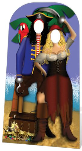 Click to view product details and reviews for Pirate Couple Stand In 186m.