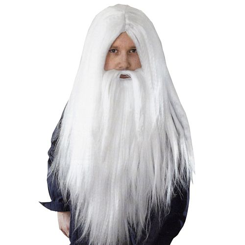 Wizard Wig and Long Beard