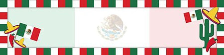 Click to view product details and reviews for Mexican Themed Banner 120cm X 297cm.