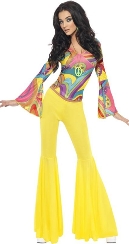 Click to view product details and reviews for Fever 70s Groovy Babe Costume.