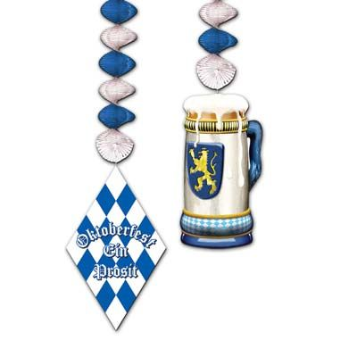 "Oktoberfest Danglers - 30"" - Pack of 2"